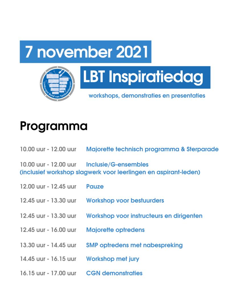 Programma LBT Inspiratiedag